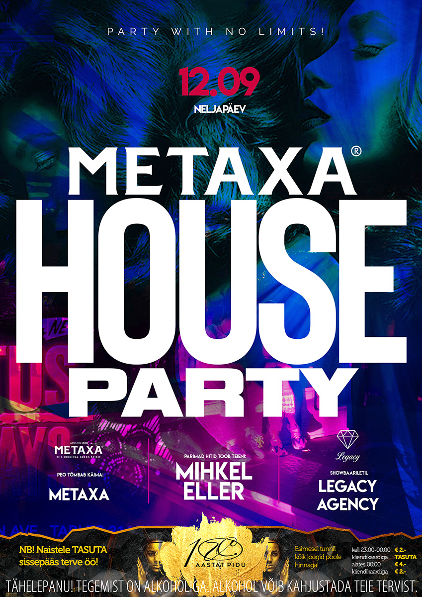 Metaxa HOUSE PARTY