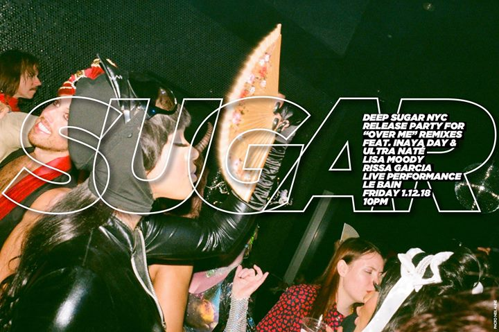 "Deep Sugar NYC ""Over Me"" remixes Release Party"