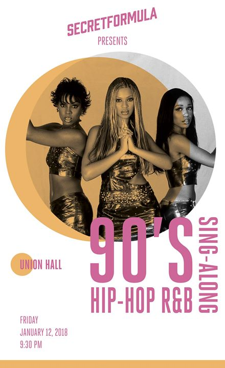 90's HipHop R&B Sing Along at Union Hall Brooklyn
