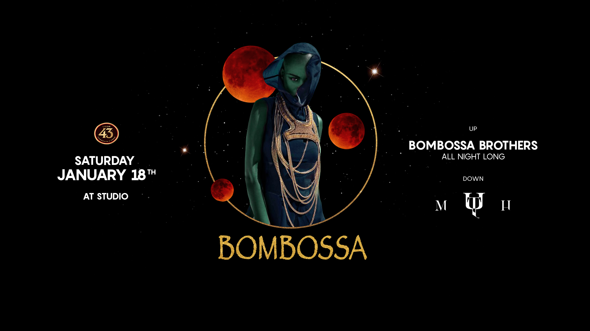 Bombossa at Studio 18.01