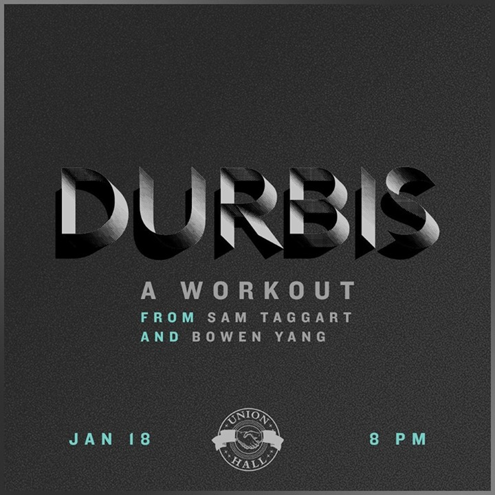 D U R B I S : A Workout at Union Hall - Brooklyn