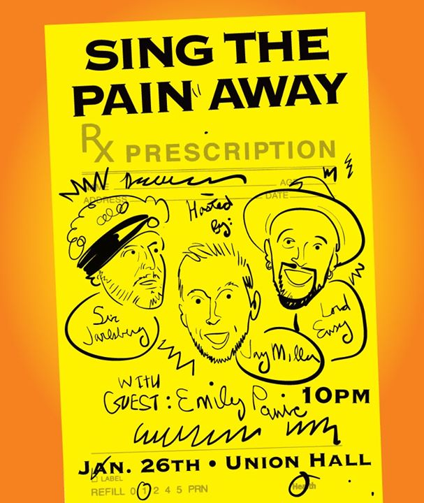 Sing the Pain Away: A Comedy Show at Union Hall - Brooklyn