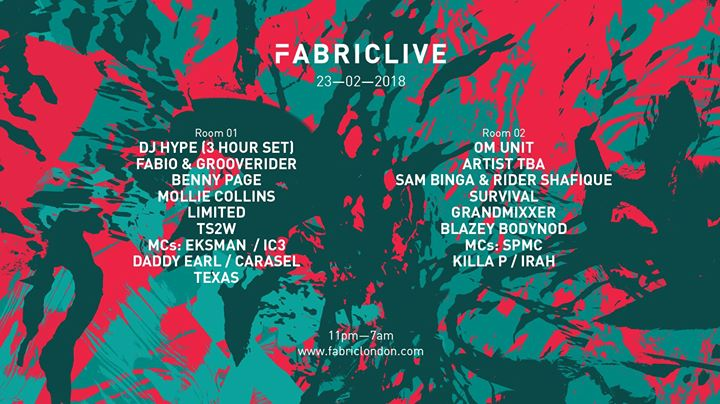 23.2 Fabriclive: DJ Hype (3 hour set), Fabio & Grooverider
