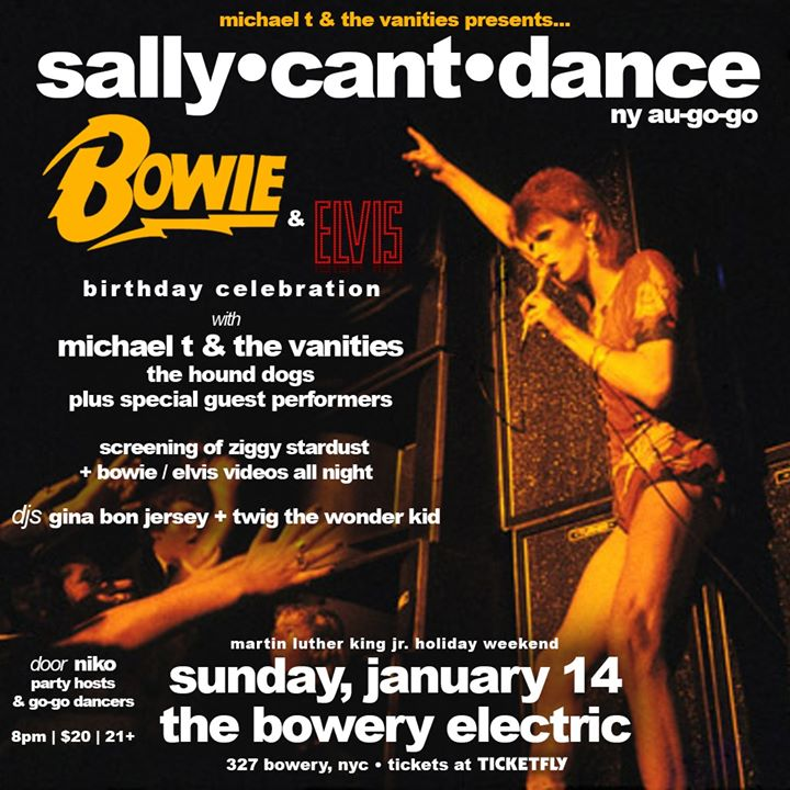 Sally•Can't•Dance at Bowery Electric