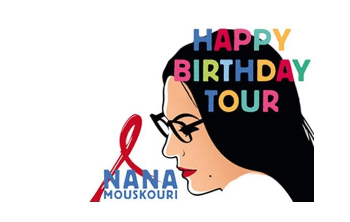 Nana Mouskouri Happy Birthday Tour Gateme