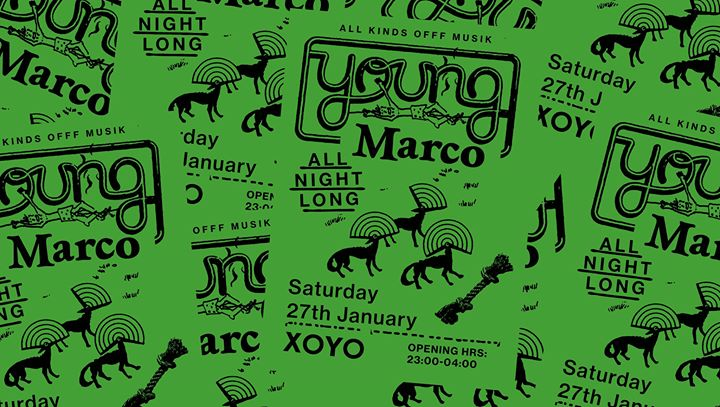 XOYO Loves: Young Marco (all night long)