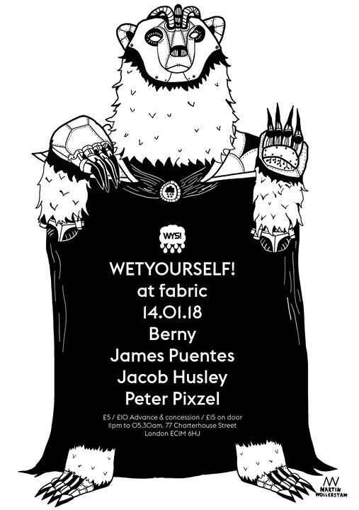 WYS! with Berny, James Puentes + Peter Pixzel & Jacob Husley