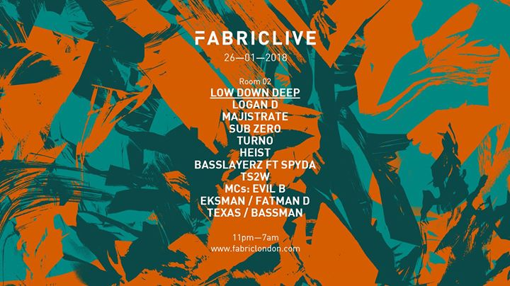 26.01 FabricLive: Low Down Deep + more tba