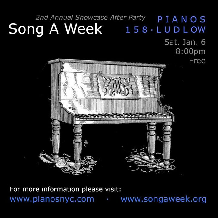 2nd Annual Song A Week After Party